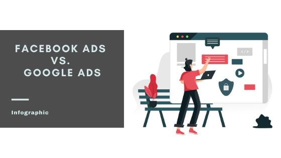 Facebook Ads vs Google Ads, Which One To Grow Your Business [Infographic]